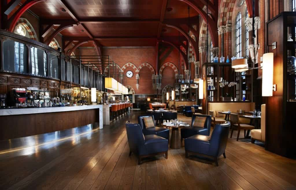 Interior photo of St Pancras Hotel Booking Office - Hospitality Photographic