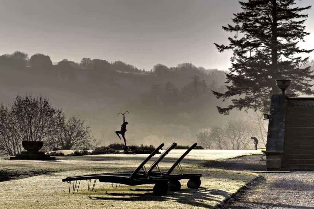 Image of a frosty lawn - Hospitality Photographic
