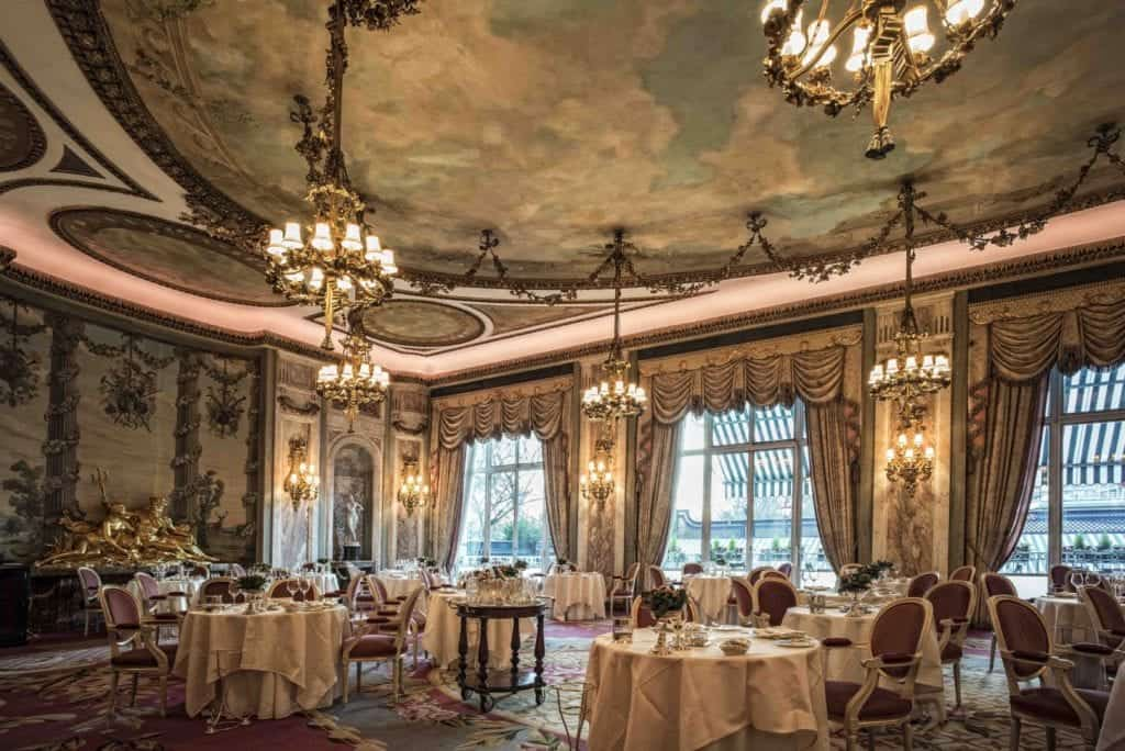 Interior photo of The Ritz Dining Room - Hospitality Photographic