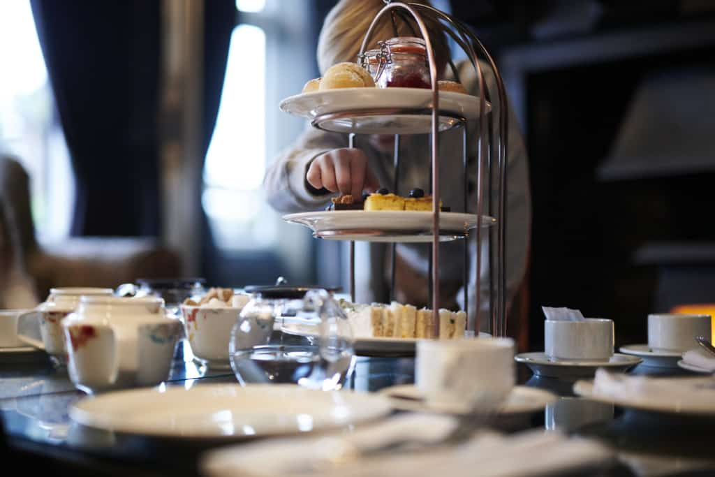 Food photo of hotel afternoon tea - Hospitality Photographic