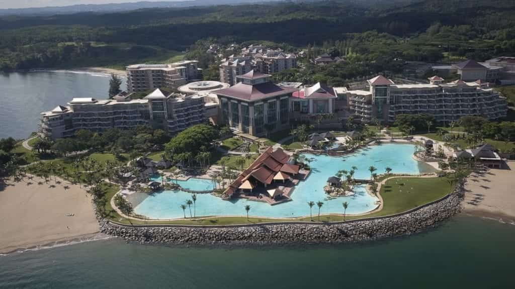 Aerial Photography of a resort - Hospitality Photographic