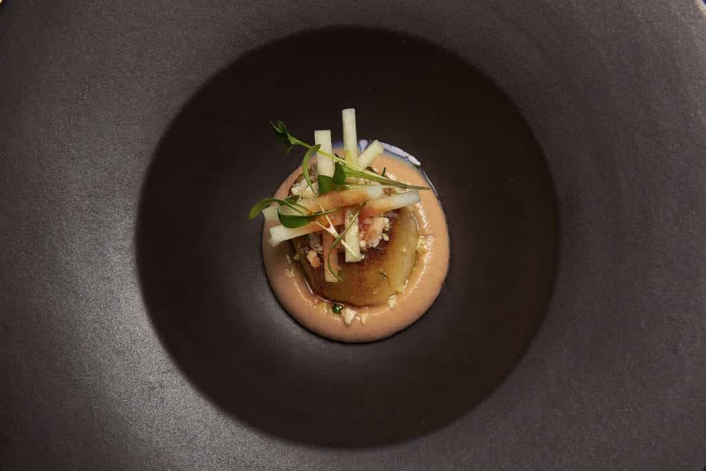 Food photo of scallop curry - Hospitality Photographic