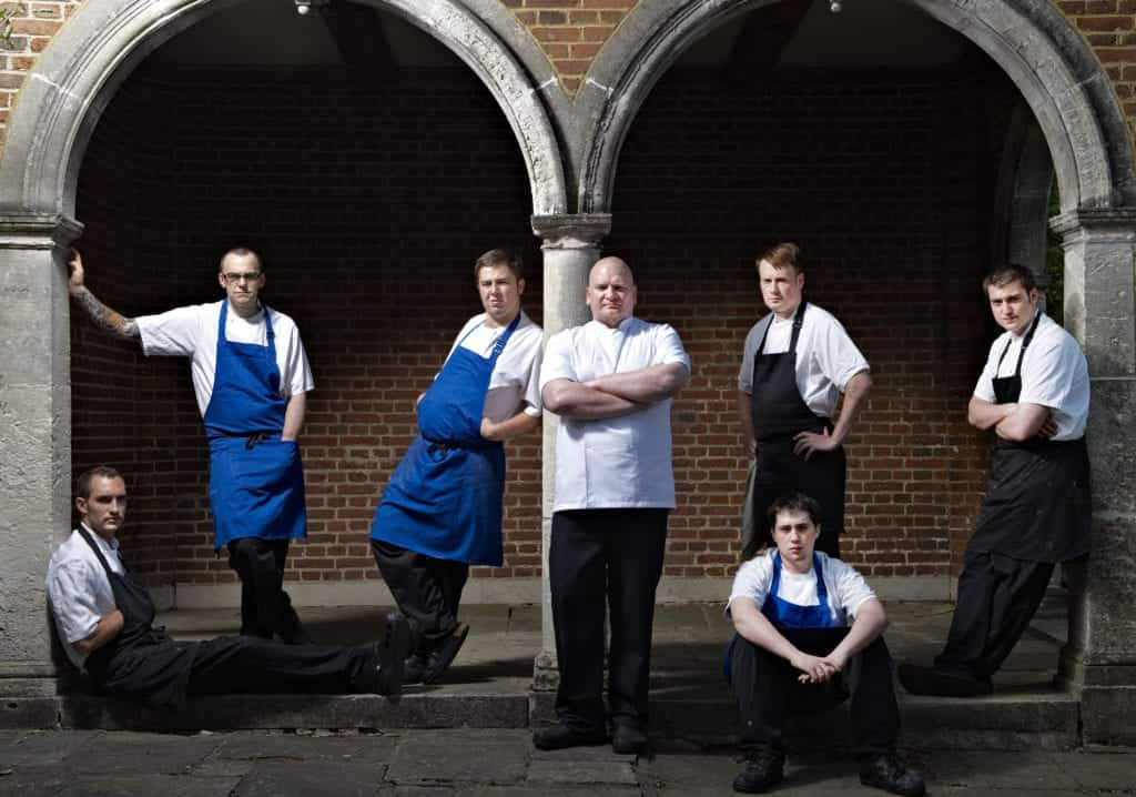 Portraiture photo of some chefs - Hospitality Photographic
