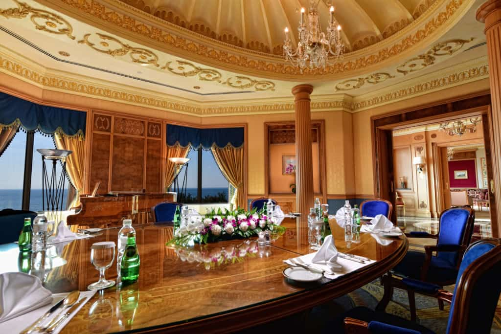 Interior photo of a hotel suite - Hospitality Photographic