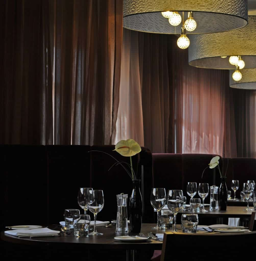 Interior photo of a dining area - Hospitality Photographic