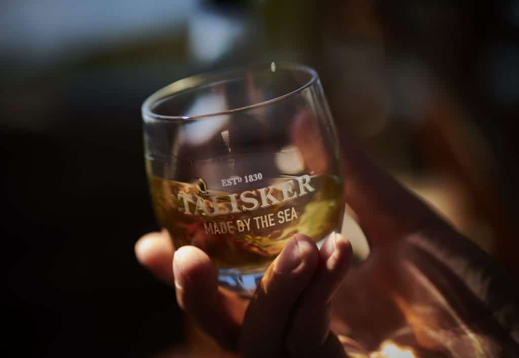 Drinks photo of a whiskey glass- Hospitality Photographic