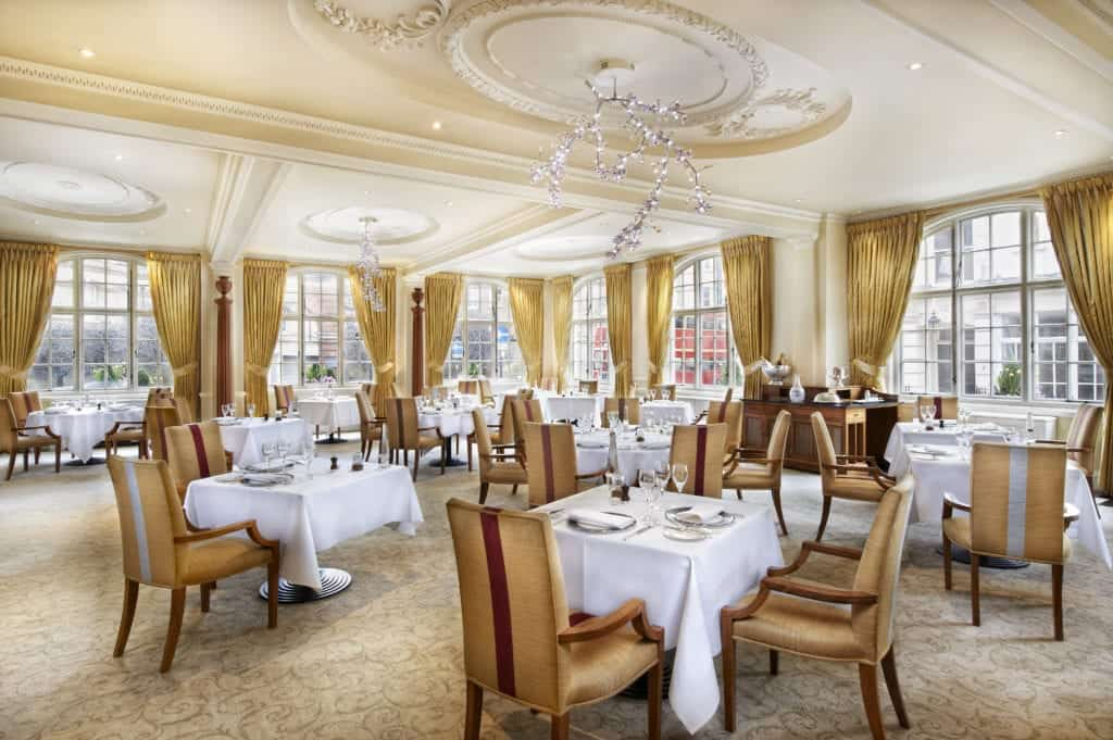 Interior photo of a dining room of a hotel - Hospitality Photographic