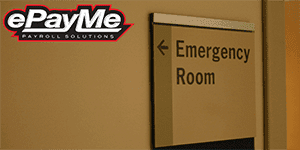 Emergency Room Sign - epayme.co.uk
